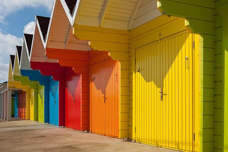 Beach Huts Long Island