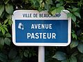 Beauchamp - Avenue Pasteur - Plaque.jpg