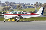 Beech A36 Bonanza (VH-DTO) at Wagga Wagga Airport.jpg