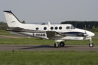 F-HHAM - BE9L - La Baule Aviation Valljet