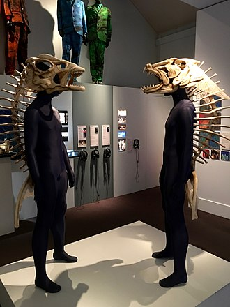 Before the Dawn (Kate Bush concert residency) - Costumes from the tour on display