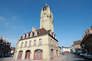 Bergues - Image: Belfry of Bergues 2008