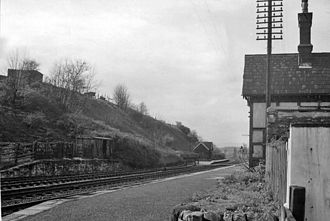 """Little"" North Western Railway - Bell Busk Station in 1961"