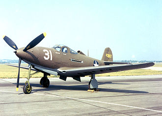 369th Fighter Group - A P-39 Airacobra as flown by the group