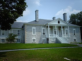 The Belle Grove manor house