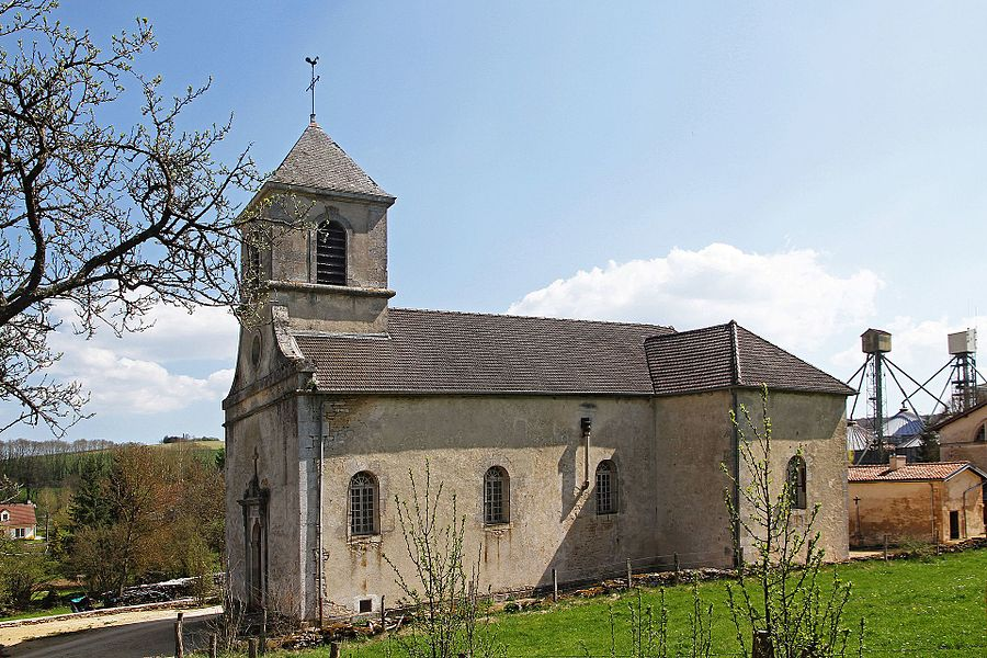 Church of the Nativity in Beneuvre