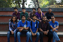 Bengali Wikipedians at Wikipedia 15 good article edit-a-thon and adda, Chittagong 1 (29).jpg