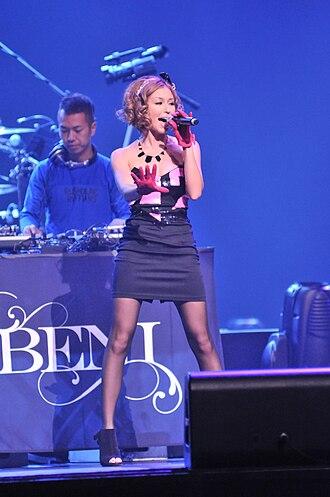 Beni (singer) - Beni in July 2010