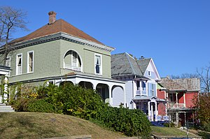Gospel Hill Historic District - Houses on Berkeley Place