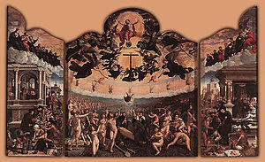 Last Judgement and the seven Acts of Mercy