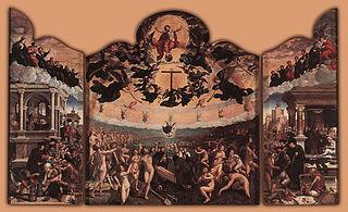 Le Jugement dernier et les sept œuvres de miséricorde