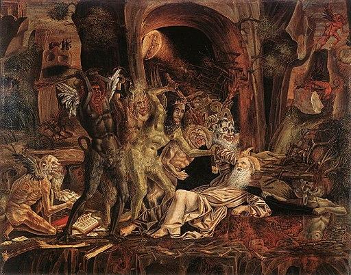 Bernardino Parenzano - Temptations of St Anthony - WGA17016