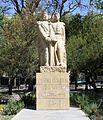 Bernardo O'Higgins and José de San Martín in Plaza Chile, Mendoza (5181314154).jpg