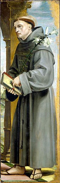 File:Bernardo Zenale - Saint Anthony of Padua - Google Art Project.jpg