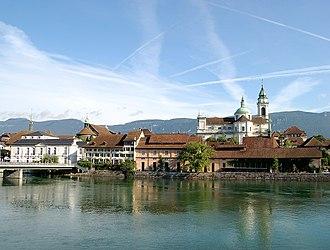 Solothurn - Image: Besenval stursen solothurn