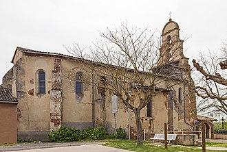 Bessens - Image: Bessens église de l'Assomption Ouest