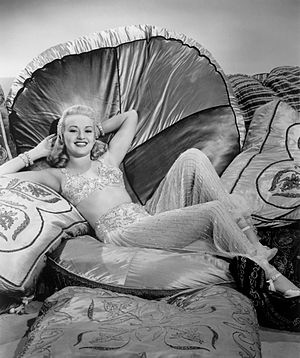 Betty Grable - Grable in the film Tin Pan Alley (1940)