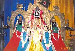 Presiding deities of famous temple at Bhavadevarapalle