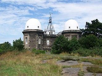 Bidston - Bidston Observatory on Bidston Hill