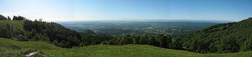 Biella - panorama dal trecciolino