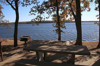 Labette County, Kansas - Image: Big Hill Lake, Labette County, Kansas