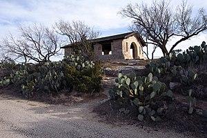 Big Spring State Park (Texas) - Image: Big Spring State Park Pavilion 2009