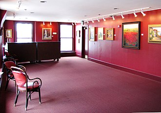 Bijou Theatre (Knoxville, Tennessee) - Gallery on the second floor of the original hotel section