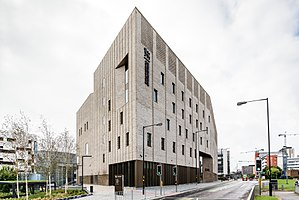 Conservatoires UK - Royal Birmingham Conservatoire from Jennens Road