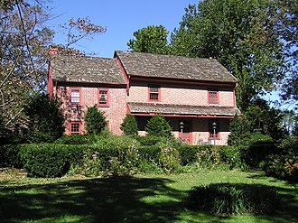 Southampton Township, New Jersey - Bishop-Irick Farmstead in Vincentown