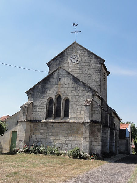 Bislée (Meuse) église