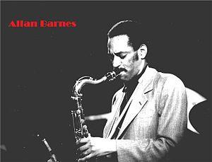 Allan Barnes - Allan C. Barnes, circa 1981. Photo by Leni Sinclair