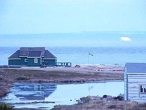 Blanc-Sablon, Quebec - Image: Blanc Sablon On Davis Strait