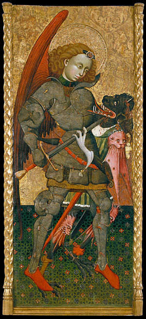 Blasco de Grañén - Saint Michael the Archangel - Google Art Project.jpg