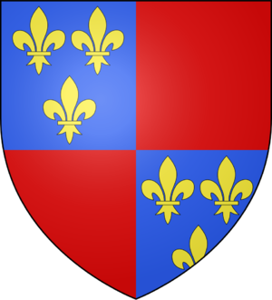 Alain I of Albret - Coat of arms of Albret