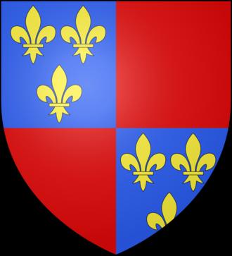 Alain I of Albret - Coat of arms of Albret