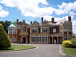 "The Imitation Game - Bletchley Park, ""the home of the codebreakers"" where parts of the film were shot"