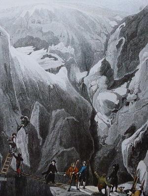 Rheinwaldhorn - The ascent by Placidus a Spescha