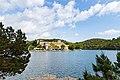 Blick auf die Insel Sankt Maria im Nationalpark Mljet, Kroatien (48739062737).jpg