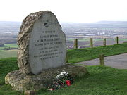 Memorial on Blue Bell Hill