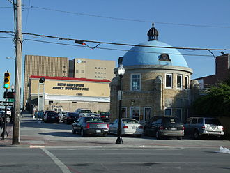 Neighborhoods of Tulsa, Oklahoma - The Blue Dome, a former Gulf Oil Service Station, built in 1924.