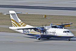 ATR 42-500 der Blue Islands