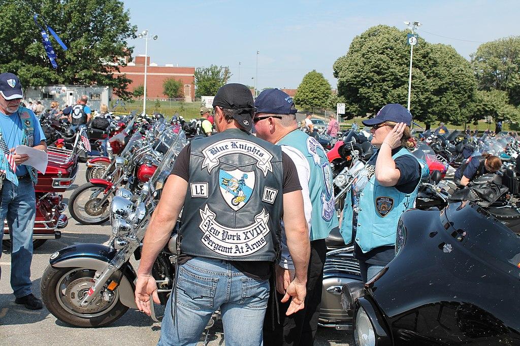 Pin en Club Vest, Best MC vest for bikers motorcycle ...  |Blue Black Motorcycle Club