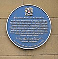 Blue Plaque on Wall of Jessops Taylors - Station Road - geograph.org.uk - 486822.jpg