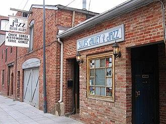 Live at Blues Alley (Wynton Marsalis album) - Blues Alley in Washington, D.C.