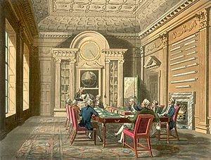 Admiralty - Board of admiralty about 1810.