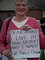 Boehner Constituent Who SupportsThe Public Option (3984146838).jpg