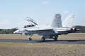 Boeing FA-18F Super Hornet Taxi Out 08 TICO 13March2010 (14412777190).jpg