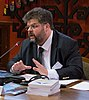 "Bohdan Yaremenko on the conference ""40 years since the Helsinki agreement. What's next?"" in 2015.jpg"