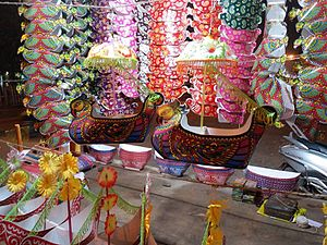 Bali Jatra - Boita being sold in Bhubaneswar