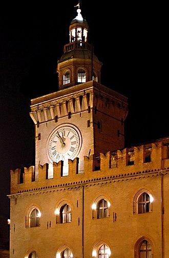 Gaspare Nadi - Belltower of the Palazzo d'Accursio